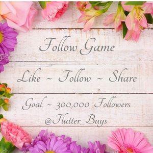 🌸 Follow Game 🌸 Goal 300,000 Followers 🌸